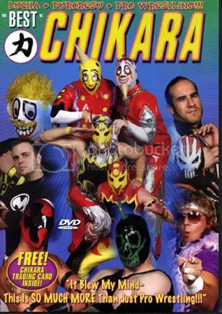 Best of Chikara DVD