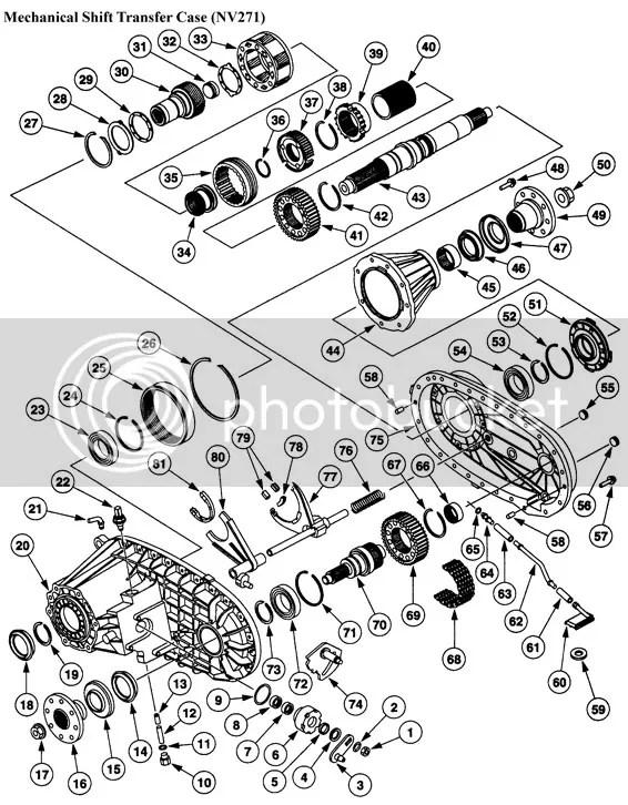 Dodge Transfer Case Diagram Np241 Hd