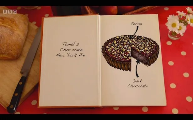 Tamal's chocolate tart