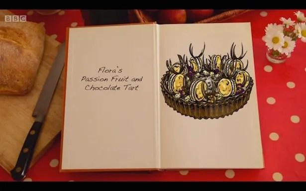 Flora's chocolate tart
