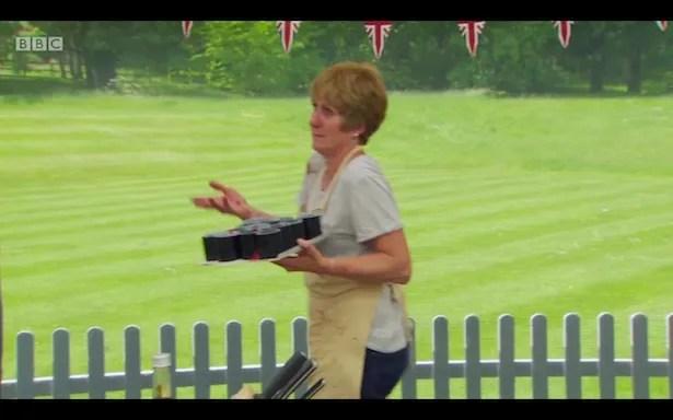 Jane mugging to camera