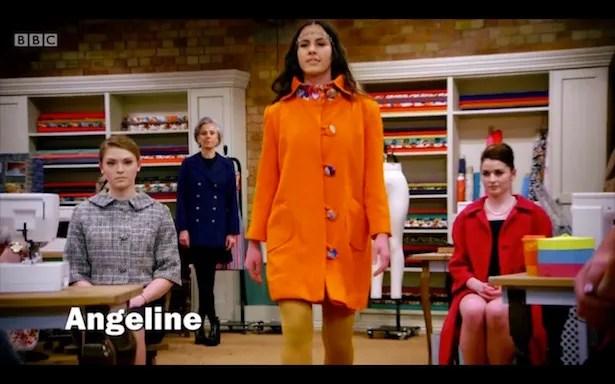 Angeline's coat