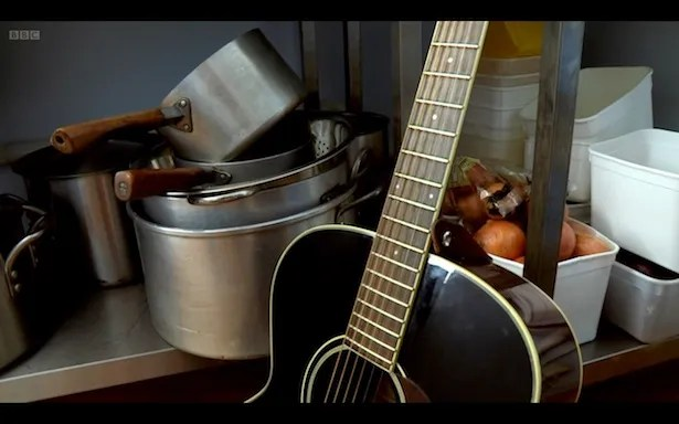 The Saucepans And Guitar Café