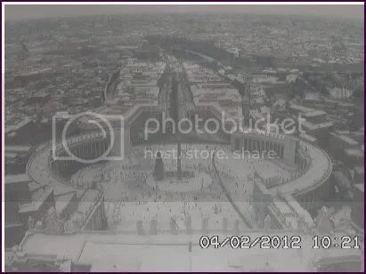 St.Peters church from a webcam