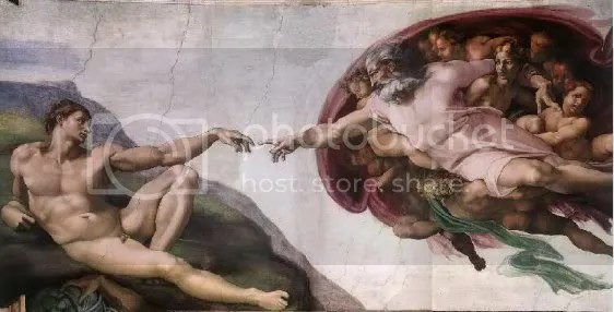 The creation of the man