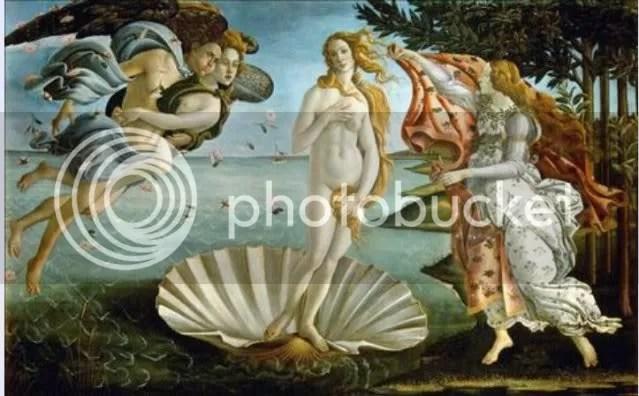 Botticellis Venus - Uffizi