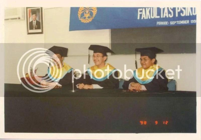 wisuda fakultas psikologi ui 1998