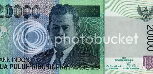 Uang pecahan 20 ribu