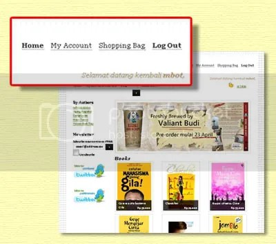 langkah-langkah beli buku di istribawel