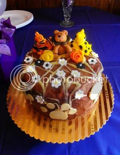 Admirable Big Cat Themed Birthday Cakes Cakecrumbs Funny Birthday Cards Online Ioscodamsfinfo
