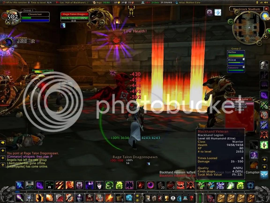Pwnt Druid in UBRS