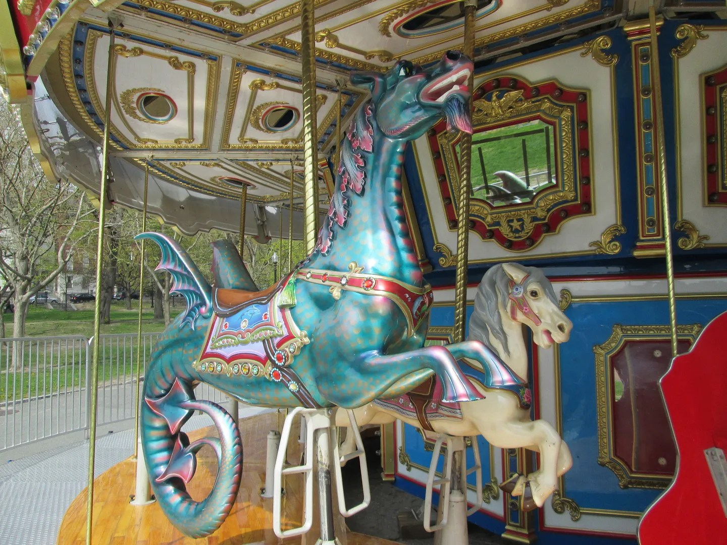 carousel sea monster