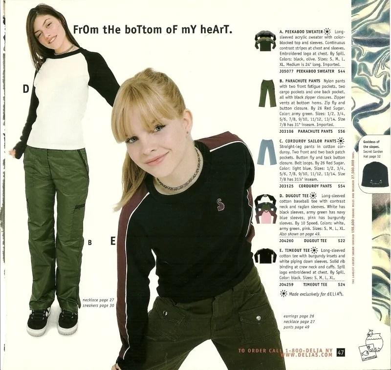06a9448f More late '90s/early 00's catalog nostalgia: Delia*s | Tutus And ...