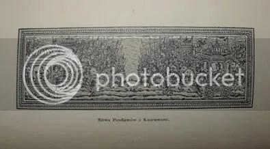 ilustracja: bitwa Pandawów zKaurawami