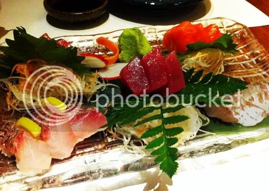 Koko, sashimi