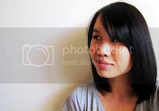 Shoulder length hair cut