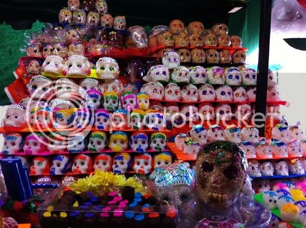 Oaxaca sugar skulls
