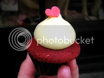 Red velvet cupcake!!