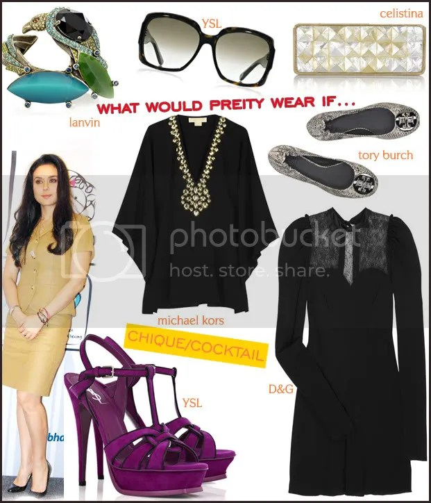 What Would Preity wear if...