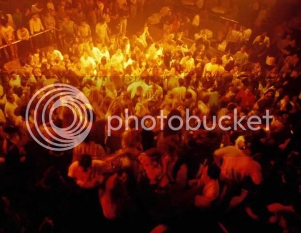 Inside a club