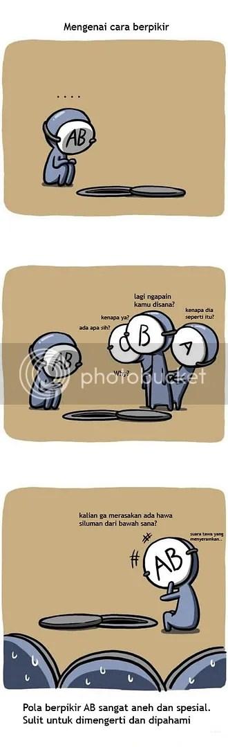 AB Blood Type way of Thinking