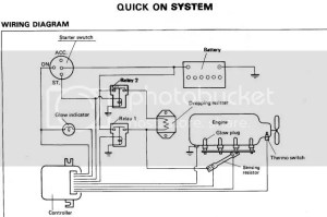 LUVTruck • View topic  Glow plug wireing diagram
