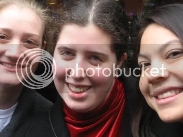 Allison, Shaina, and Melanie