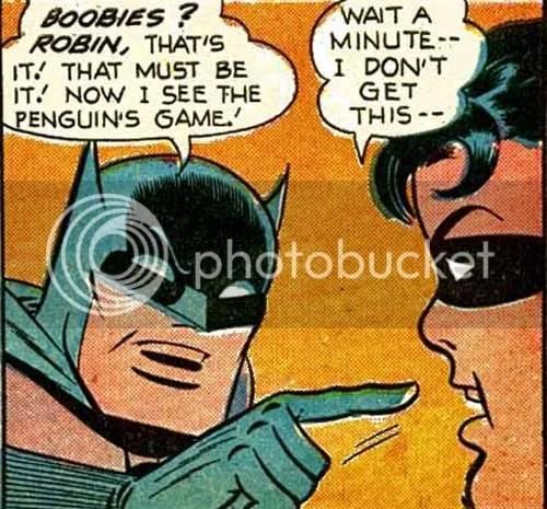 Holy mammaries Batman!