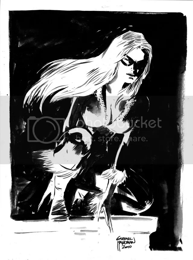 Black Cat by Gabriel Hardman