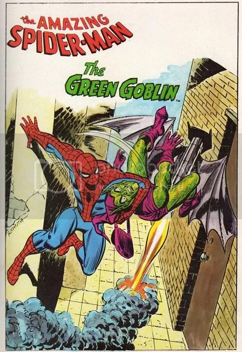 Just think how angry Spidey would be if he had found out Goblin had banged Gwen!