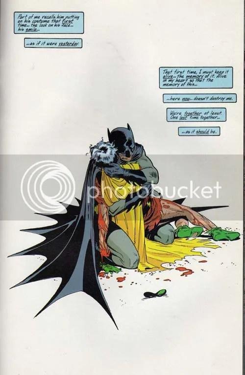 Holy dead side-kick Batman!