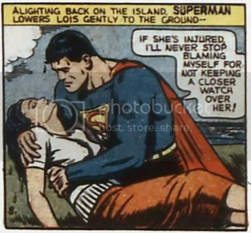 Superman gets all weepy in Action Comics #33