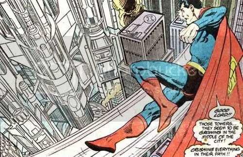 From John Byrne\'s Action Comics #587