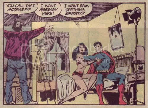 Action Comics #593! Super-bang her, Last Son of Krypton! Go forth and multiply!