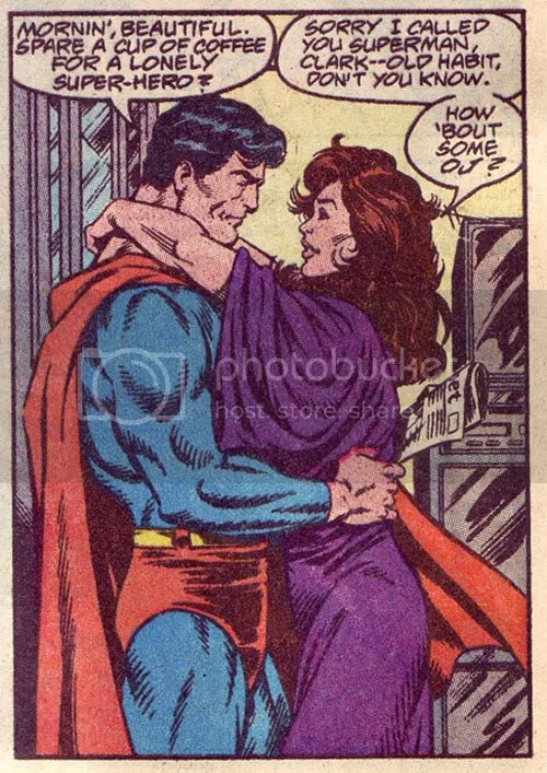 That's him trying to bang Lois in Adventures of Superman #842