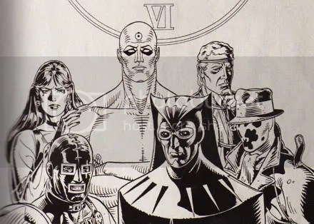 Art from the Amazing Heroes fanzine