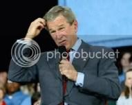 Confused politician (George Bush)