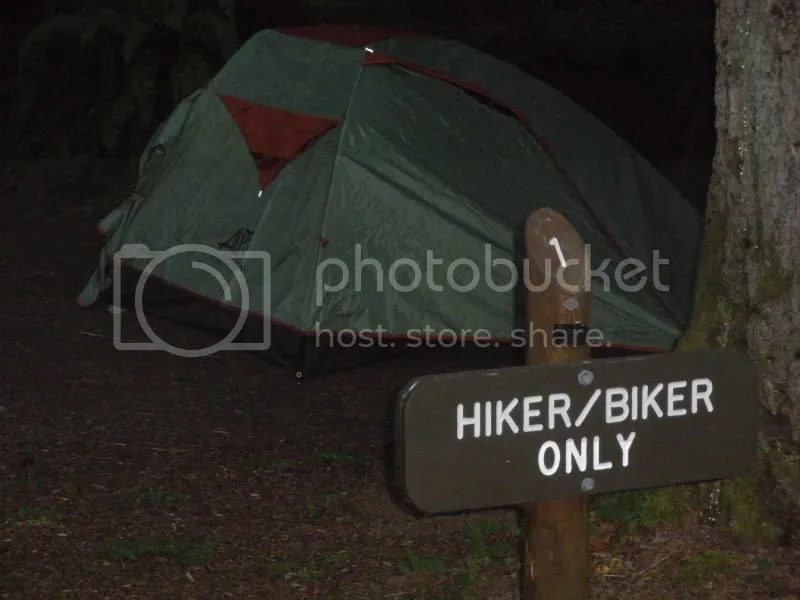 Hiker/biker spot