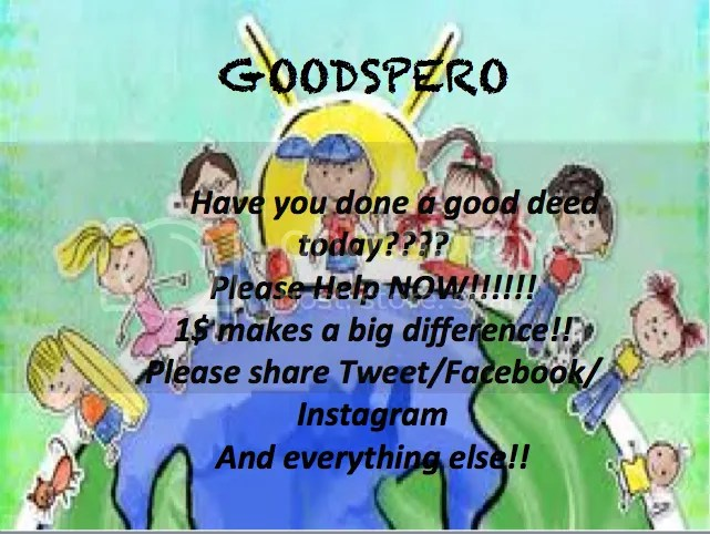 image: goodspero indiegogo campaign - 10 year old contribution