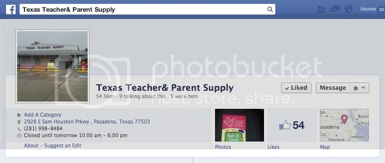 Image: Texas Teacher and Parent Art Supply - Pasadena, TX
