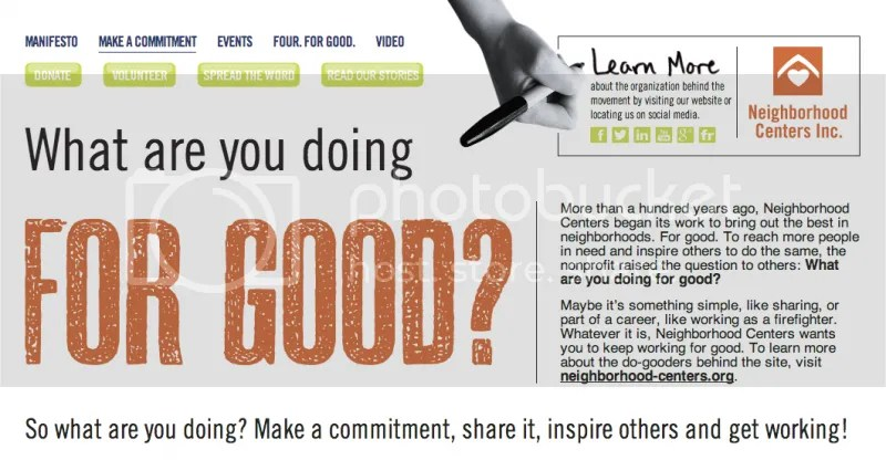 image: Neighborhood Centers -  iamforgood.org campaign