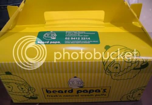 Beard Papa box