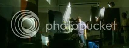 Organizando la iluminación del set