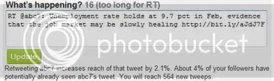 Twitstat Tweet Reach