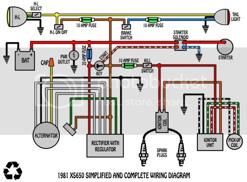Xs650 Bobber Wiring Harness | Motorjdico