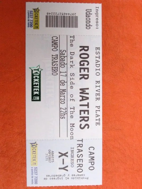 Recital de Roger Waters