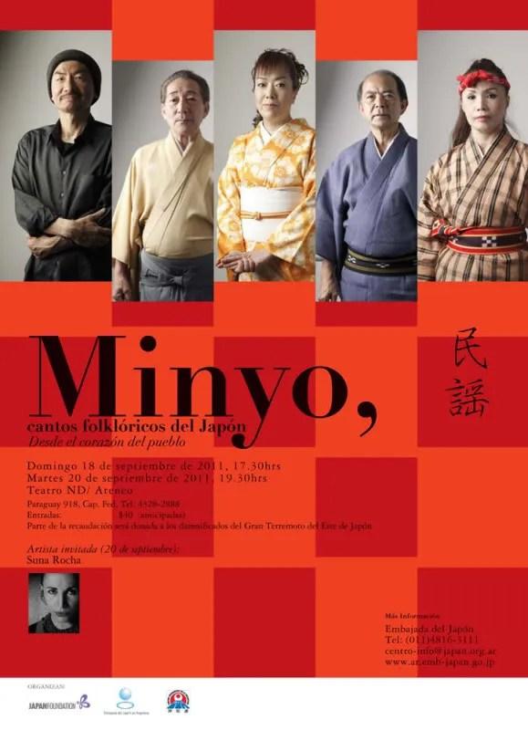 concierto de minyo