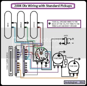 Please help me with this 2004 deluxe strat strat new wiring diagram!!! | The Gear Page
