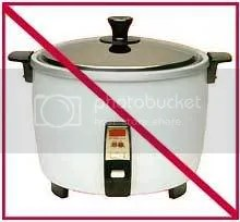 Olden type of Rice Cooker