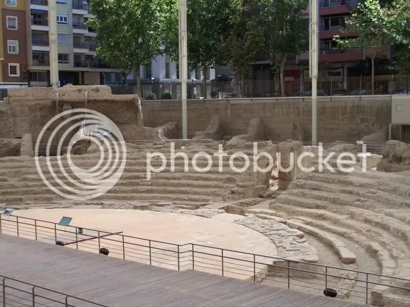 Roman ruins found in Zaragoza.